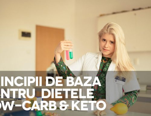 Principiile de baza pentru diete Low-Carb si Keto